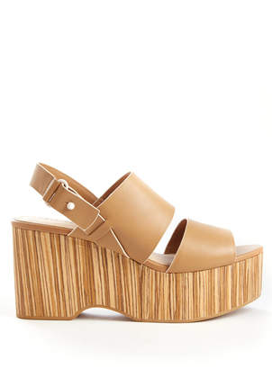 Kelsi Dagger Brooklyn Nash Wood wedge Sandals