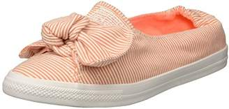 Converse Knot Striped Chambray Slip on Sneaker