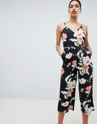 6f75ae32fd66 AX Paris Tropical Print Culotte Jumpsuit