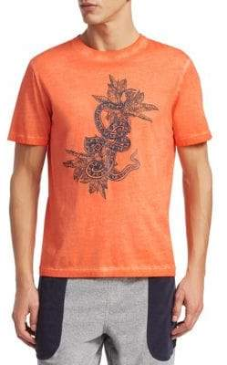 Madison Supply Dragon Distressed Graphic Tee
