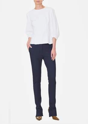 Tibi Cavalry Twill Tailored Skinny Pants