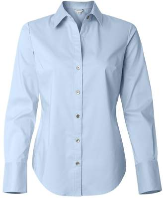 Calvin Klein Ladies' Cotton Stretch Dress Shirt. 13CK018