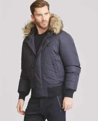 Ralph Lauren RLX Faux Fur-Trim Down Coat