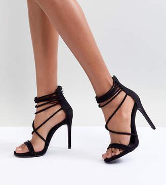 94a83e8273d Steve Madden Black High Heel Sandals For Women - ShopStyle UK