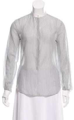 Giada Forte Striped Long Sleeve Top w/ Tags