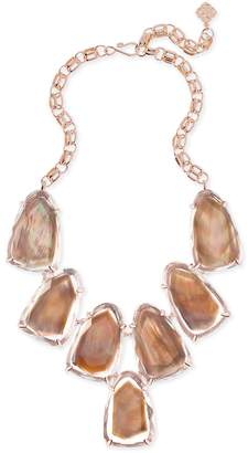 Kendra Scott Harlow Statement Necklace in Rose Gold