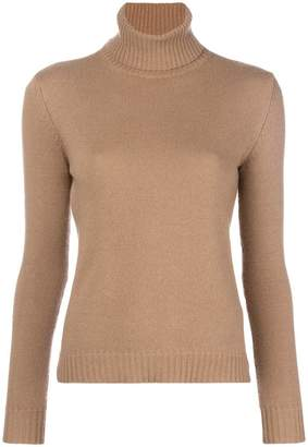 Max Mara slim fit polo neck