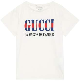 Gucci Kids L'Amour printed T-shirt