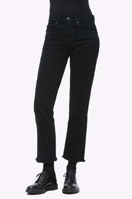 Obey Frayed Cropped Pant
