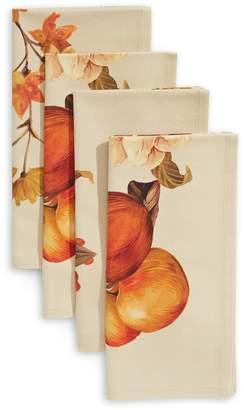 Boutique By Distinctly Home Harvest Floral 4-Piece Napkin Set