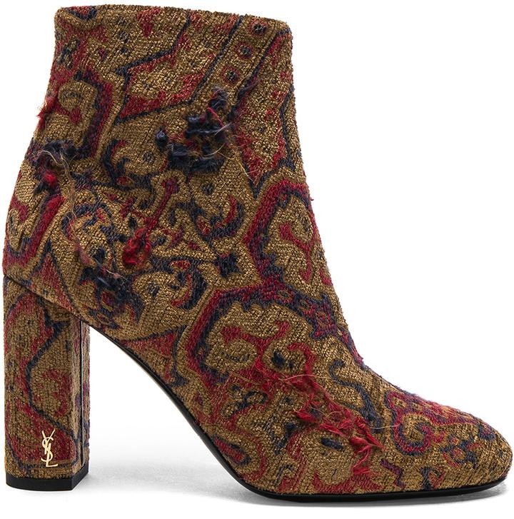 Saint LaurentSaint Laurent Leather Loulou Boots