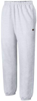 Champion Men's Reverse Weave Fleece Pant_ Gray_M