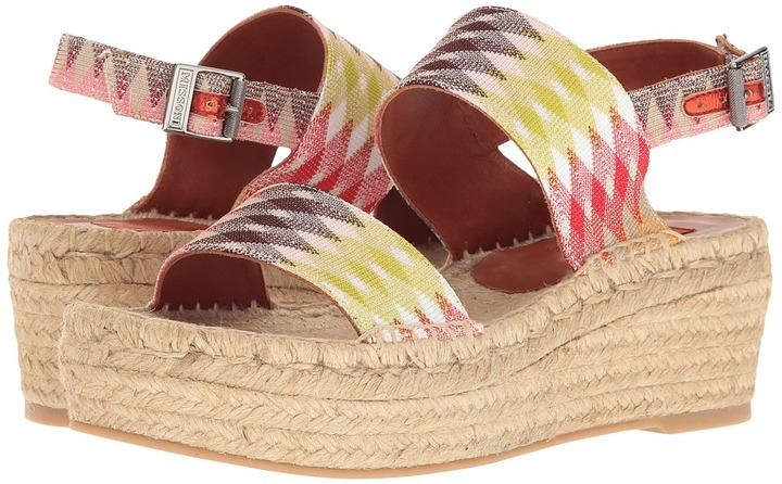 Missoni - Double Band Flatform Women's Shoes