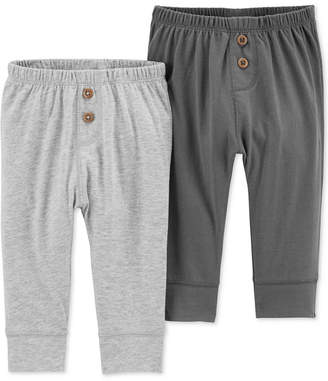 Carter's Baby Boys 2-Pk. Cuffed-Hem Pants
