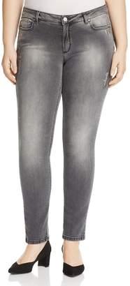 Marina Rinaldi Igloo Distressed Slim Jeans
