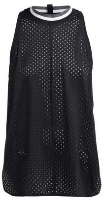 adidas by Stella McCartney Train Mesh Performance Tank Top - Womens - Black