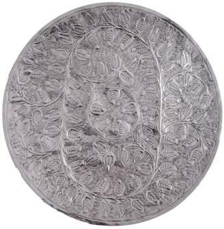 J & K Europe Imports Nirav Aluminium Curved Tray