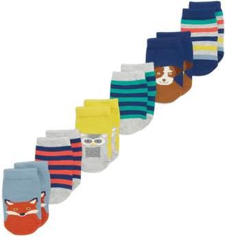 Boden Mini 7-Pack Patterned Socks