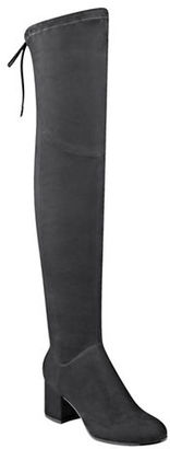 Ivanka Trump Kellyn Micro Suede Over-the-Knee Boots $179 thestylecure.com