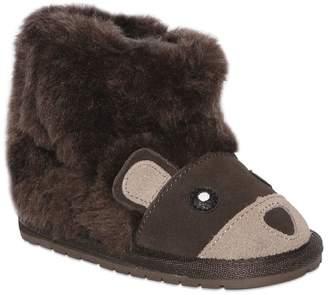 Emu Bear Merino Wool & Suede Boots
