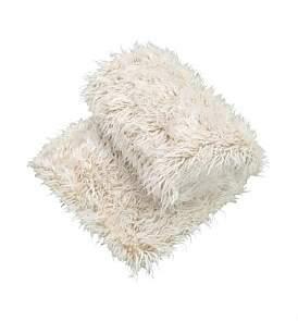 Florence Broadhurst Faux Fur Throw