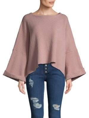 Free People I Can't Wait Oversized Sweater