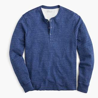 J.Crew Tall double-knit henley