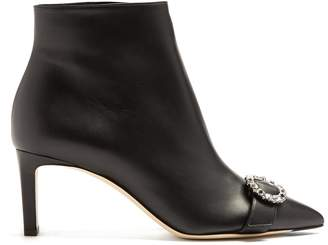 Jimmy Choo Hanover 65 leather ankle boots