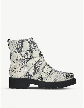 Steve Madden Hoofy leather biker boots