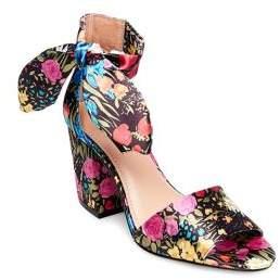 Design Lab Oni Ankle Bow Strap Sandals