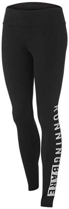 Running Bare Womens Word On The Street Full Length Tights