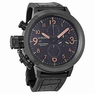 U-Boat Men's 7094 Flightdeck Analog Display Swiss Automatic Brown Watch