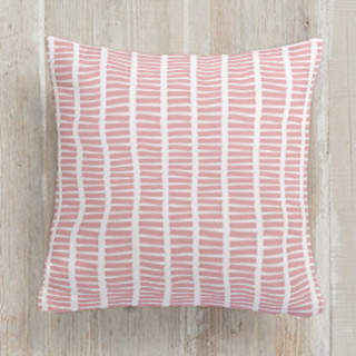 Walk the Line Square Pillow