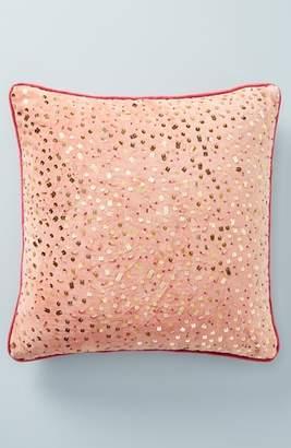 Anthropologie Confetti Velvet Accent Pillow