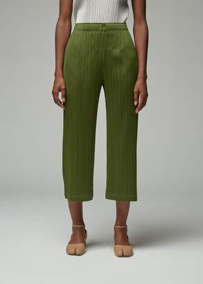 Pleats Please Issey Miyake Cropped July Pant