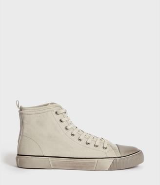 AllSaints Rigg Canvas Hightop Sneaker