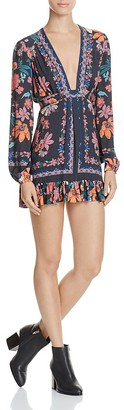 Free People Violet Hill Printed Tunic Dress $108 thestylecure.com