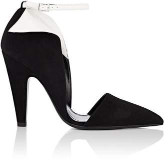 Calvin Klein Women's Kaiya Suede Ankle-Strap Pumps