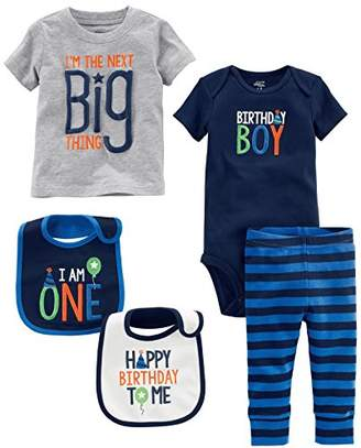 Carters Simple Joys By Baby Boys 5 Piecemy 1st Birthday Set