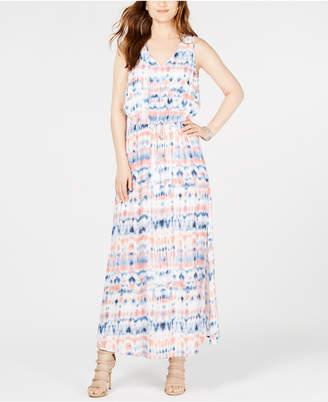 Karen Kane Printed Sleeveless Maxi Dress