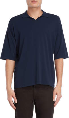 Roberto Collina Solid Collared Tee
