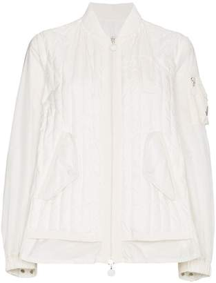 Moncler Kim Quilted Bomber Jacket