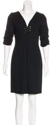 Valentino Wool Sheath Dress