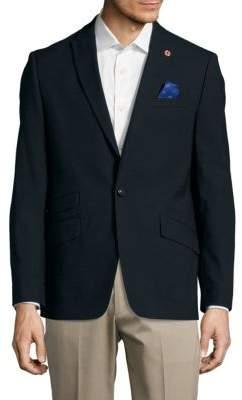 Ben ShermanTextured Wool-Blend Jacket
