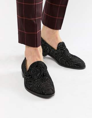 House of Hounds House Of Hounds Hawk loafers in black chiffon