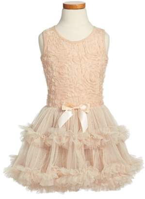 Popatu Ribbon Rosette Sleeveless Dress