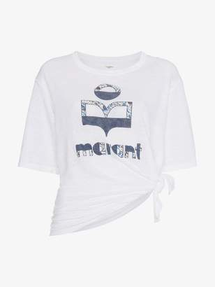 Etoile Isabel Marant logo printed t shirt