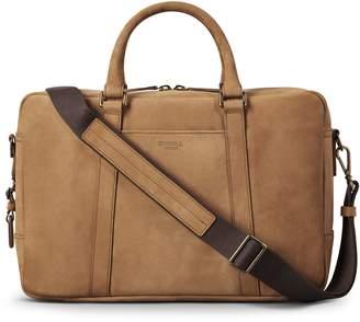 Shinola Outrigger Slim Leather Briefcase