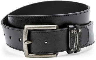 Levi's Black Double Keeper Belt