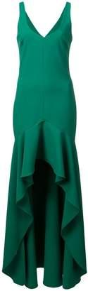 LIKELY ruffled sleeveless dress
